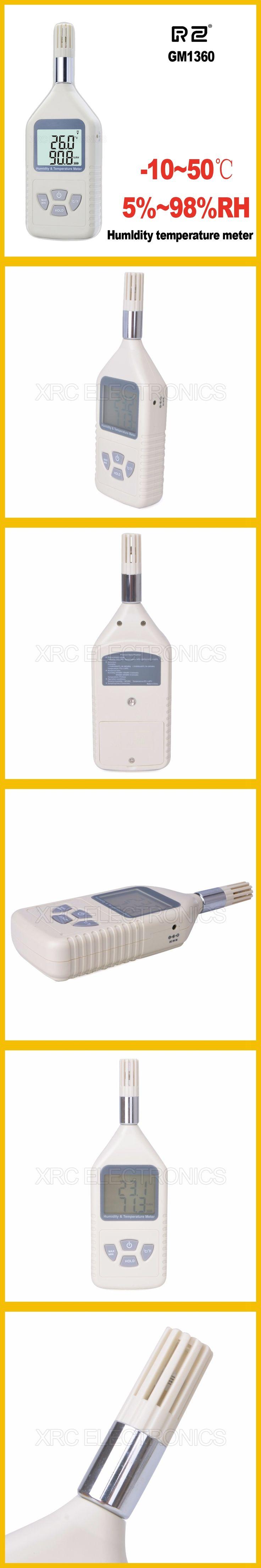 GM1360 Humidity  Temperature meter Measure Range -10~50C