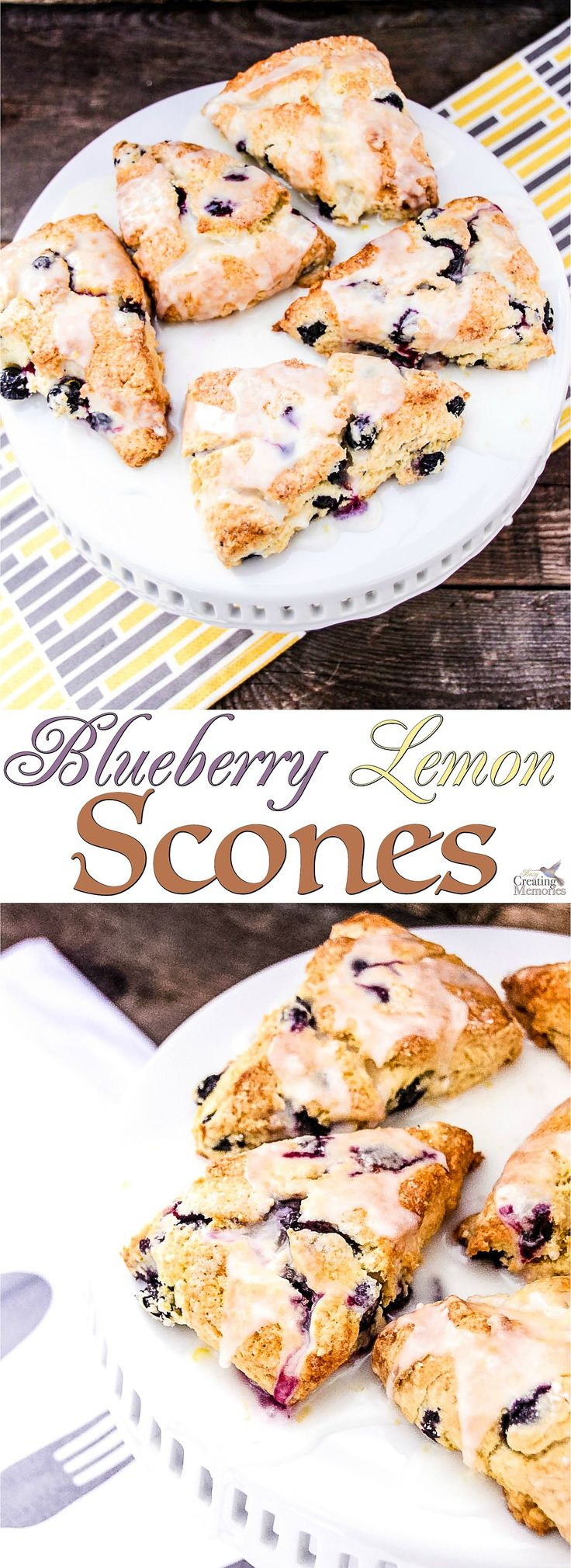 Experience perfection in a bite! Try this easy to follow Blueberry Lemon Scone Recipe! A perfect addition to brunch, afternoon tea party…