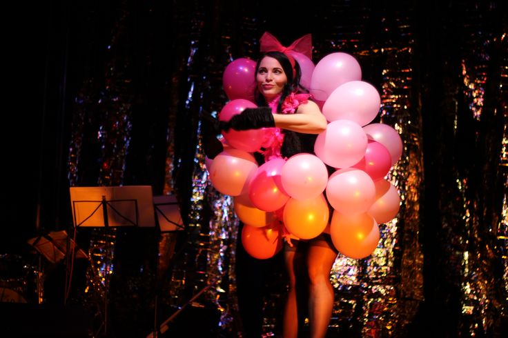 Zaira Doll and her balloon act at our very first show was one of the favourites ones. <3