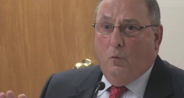 Paul LePage Claims 90% of His 'Mugshot Binder' is Black Drug Dealers, It's Actually Mostly White