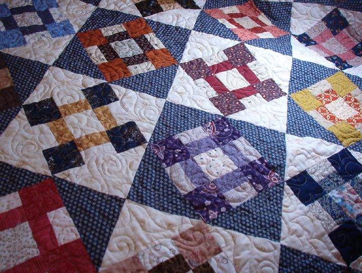Quiltville's Quips & Snips: Chunky Churn Dash