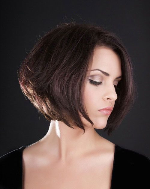 Classic short bob hairstyles for thick hair