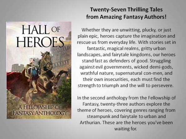 Hall of Heroes Review of 27 Fantasy Tales - Peggy's Hope 4U