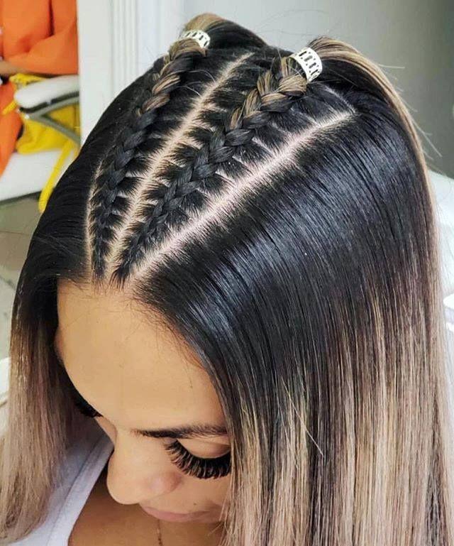 Imagen perfecta peinados con trenzas faciles Imagen de estilo de color de pelo - 49 Peinados con Trenzas de Moda para Chicas de Cabello ...