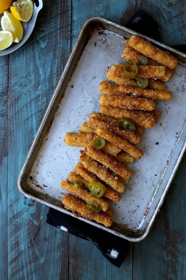 Hearts of Palm Fries with lemon and jalapeño | http://joythebaker.com/2015/01/hearts-palm-fries-lemon-jalapeno/