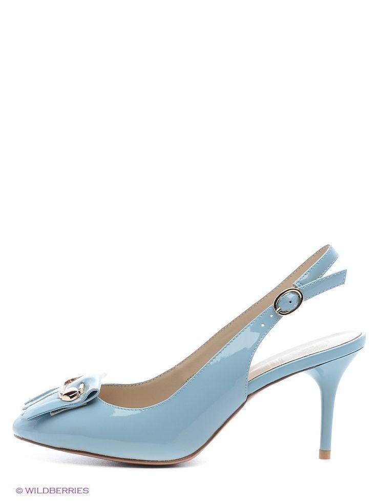 Туфли Tervolina. Цвет голубой.