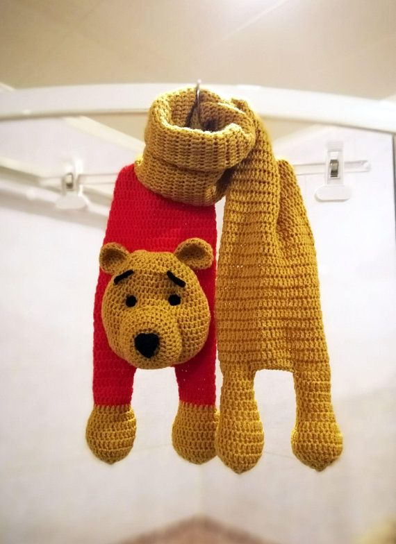 The Dreamy Crocheter: Free scarf pattern for Barney the Bear | 784x570