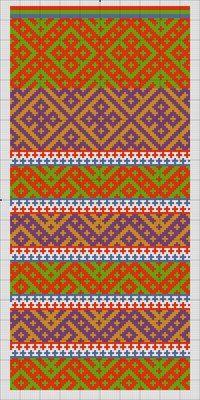 Традиционное узорное вязание