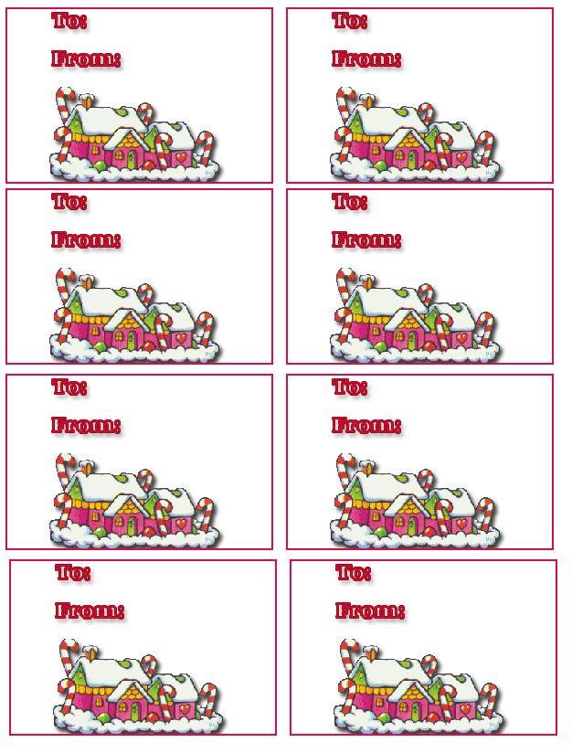 Free printable christmas cards tags 135 free printable christmas cards free christmas gift tags 9 free holiday printable gift tags negle Choice Image