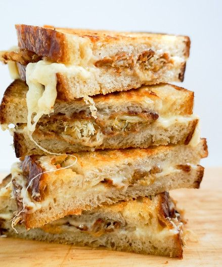 Crab Cake Grilled Cheese | Neurotic Baker