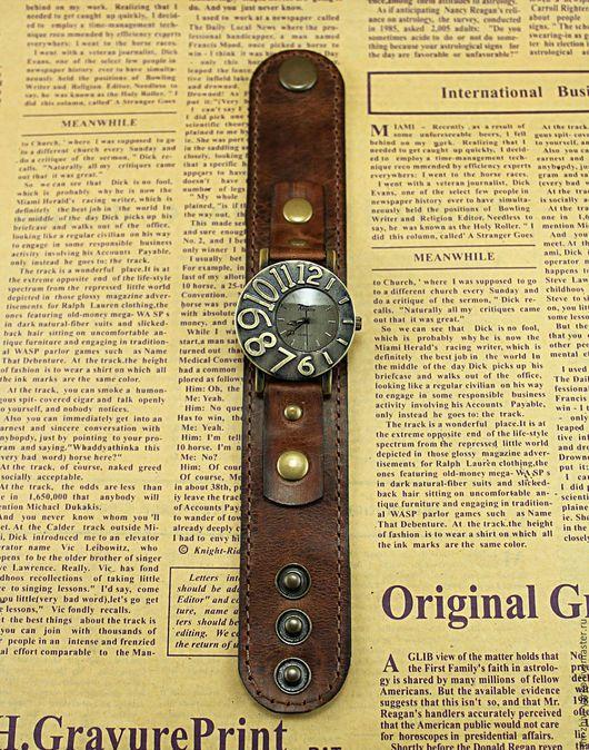 Часы ручной работы. Часы наручные в стиле винтаж