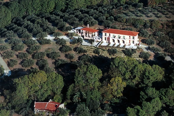 Rovies hotel at the Rovies grove, on the island of Evia... a wonderful eco-friendly hotel nestled amongst the ancient olive groves that stretch as far as the eye can see from the mountains, all the way down to the sea.