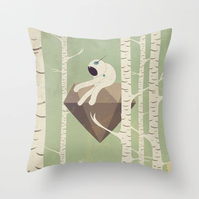 d i a m a n t e - v o l a n t e Throw Pillow by Marco Puccini - $20.00