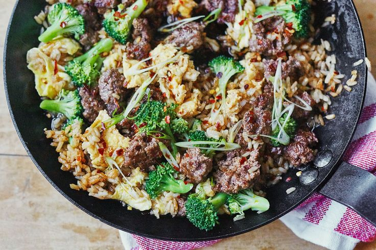 Recipe: Beef and Broccoli Fried Rice — Quick and Easy Weeknight Dinners
