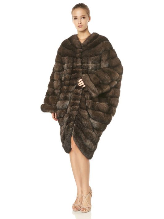 Classy and glamorous...All eyes on your new  AVANTI sable coat! #topquality #topfurexperts #avantifurs #sable