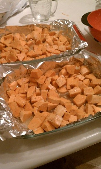 Maple-Roasted Sweet Potatoes - Roasting | recipes | Pinterest