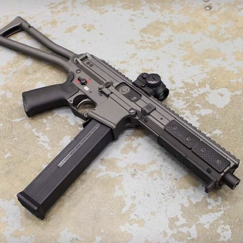 gunsdaily: Something new and .45 ACP from LWRC. This looks pretty darn sexy! #LWRC #subgun #45acp