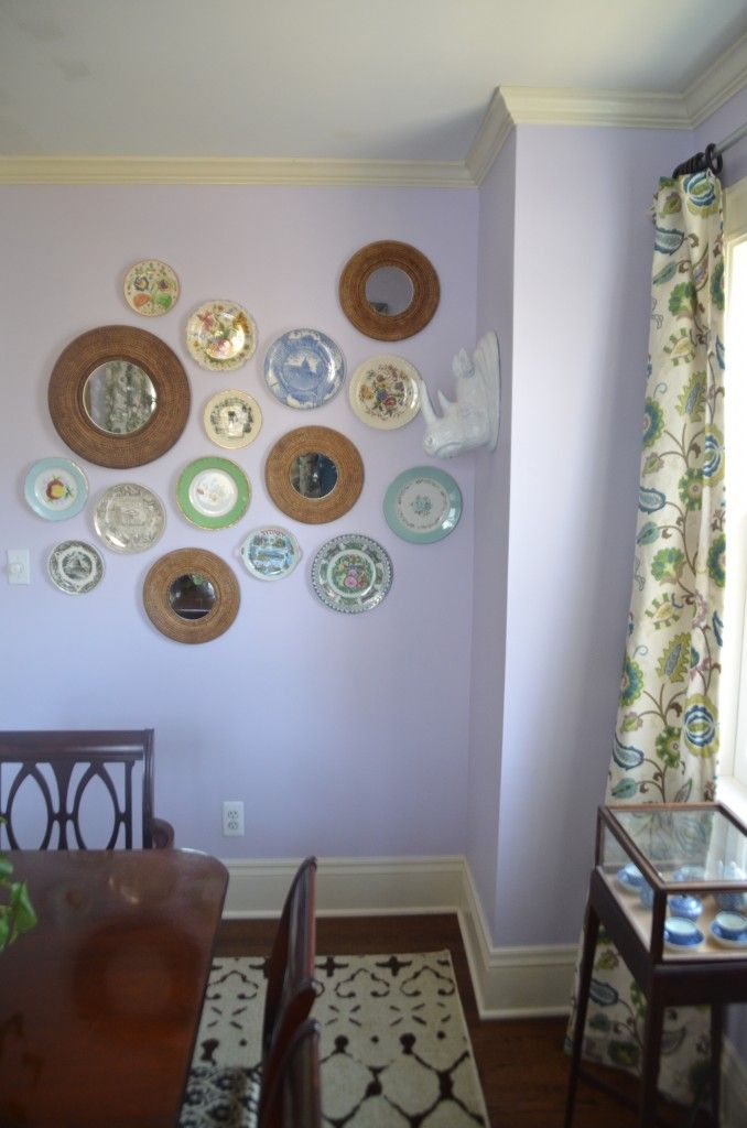 lavender-wall-plate