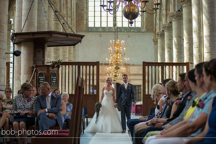 Kerkelijk huwelijk Maria Magdalena kerk te Goes bob-photos.com