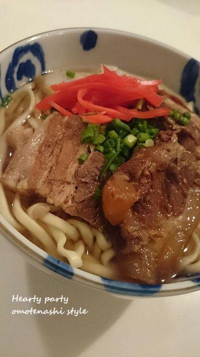 年越し沖縄そば♪知念製麺 by ちゅるるさん | レシピブログ - 料理 ...