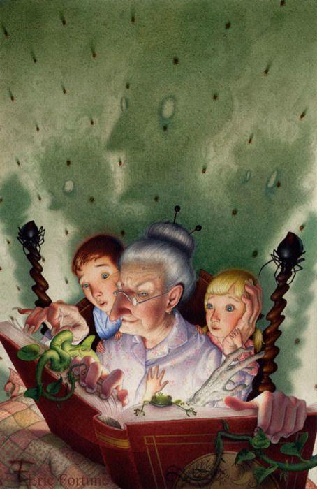 Grandmas storybook - [someone else's caption]: