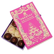 Prestat Chocolates. Small, but perfectly formed selection.