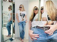 Футболка Eleven Paris Джинсы Diesel Ремень Gucci Очки Dolce & Gabbana