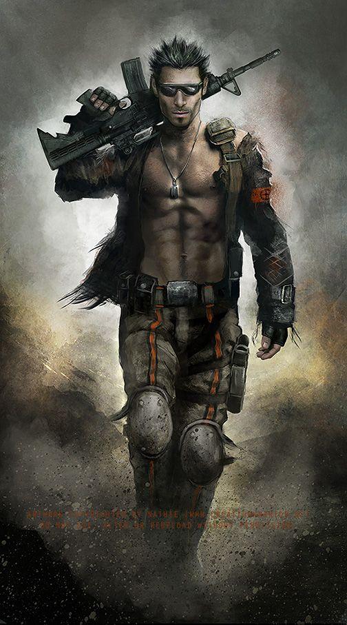 Fantasy warrior men - photo#29