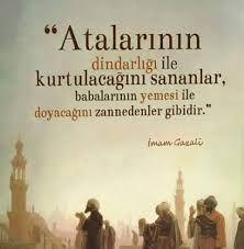 imam gazali sözler ile ilgili görsel sonucu