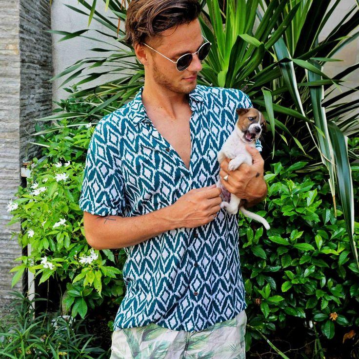 Mens Hawaiian Shirts by Kenny Flowers The Island Diamonds - Jungle   www.kennyflowers.co