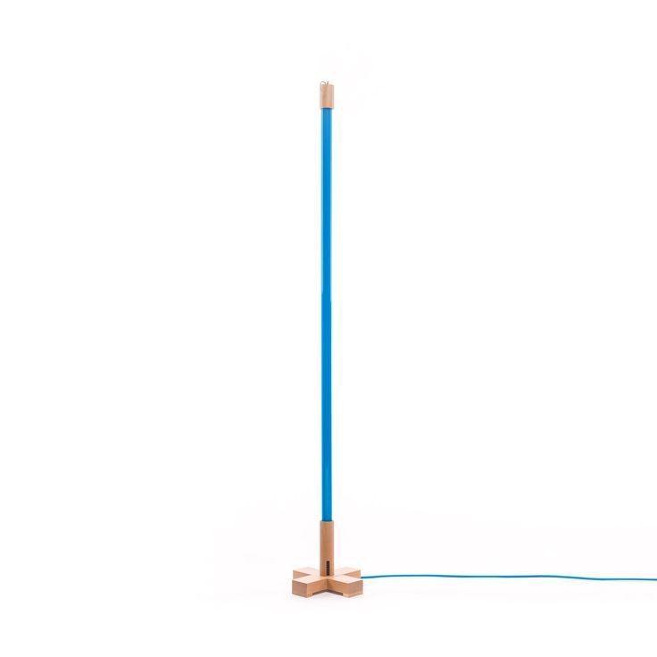 Linea Neon Lamba-Mavi