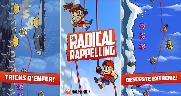 Radical Rappelling est le Jetpack Joyride de la descente en rappel - http://www.frandroid.com/applications/288243_radical-rappelling-jetpack-joyride-de-descente-rappel  #ApplicationsAndroid, #Jeux
