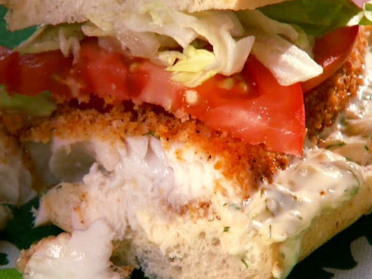 Tilapia Sandwich from FoodNetwork.com    This sandwich is very good! My daughter and I love it...