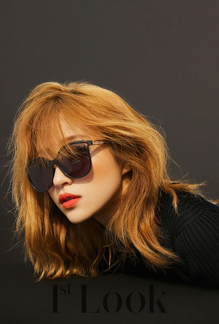 Hani (EXID) shows up in this month's 1st Look, check it out! Source | 1st Look