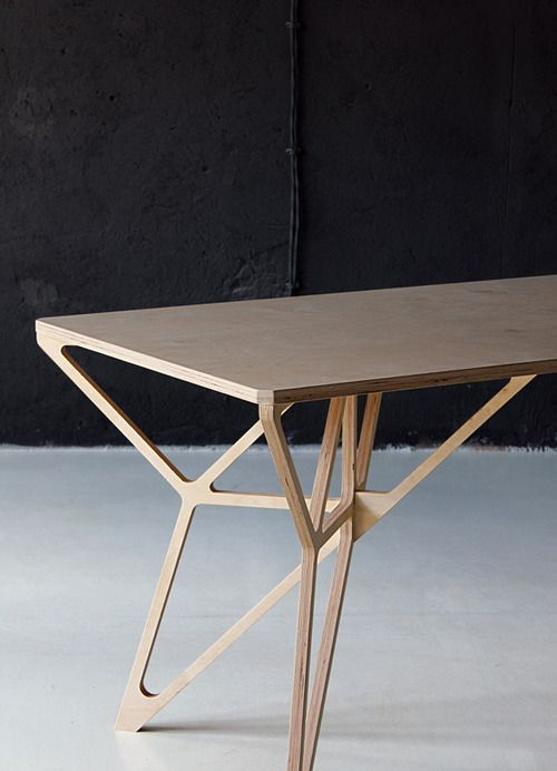 Budget legs Plywood Table