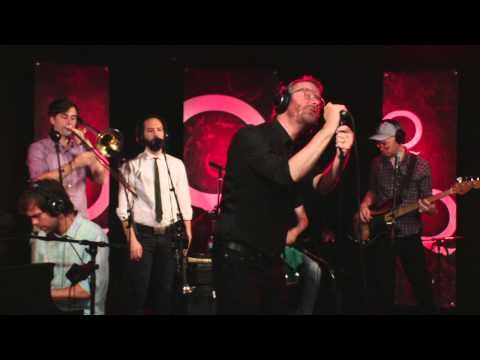 """▶ The National perform """"Pink Rabbits"""" in Studio Q - YouTube"""