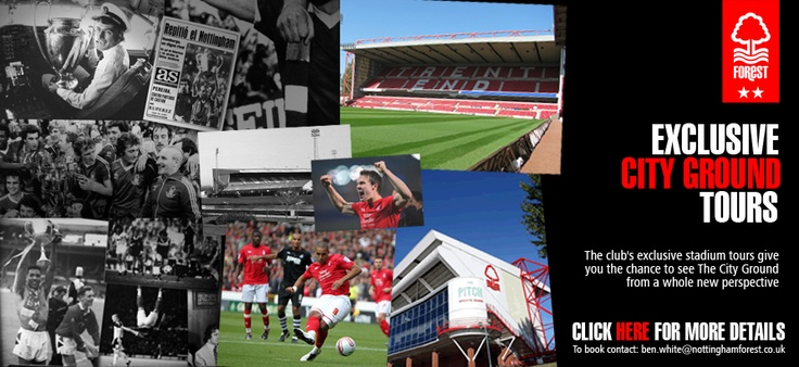 Exclusive City Ground Tours.