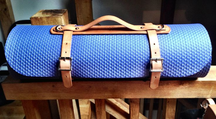 DTB Yoga Mat Strap leather by DTBros on Etsy, £35.00 - strap buckle