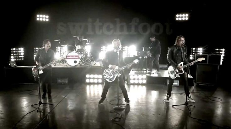 "SWITCHFOOT - DARK HORSES.  Love what he says at the end of the song... ""Hope makes the blood change courses."""