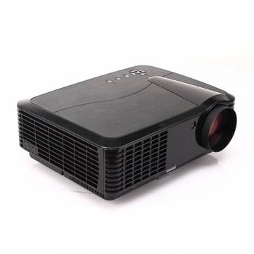 Good  Lumens Home Cinema Projector HD LCD Projector TV PC DVD Beamer Ideal for your home theater gaming moive and tv red and blue supported