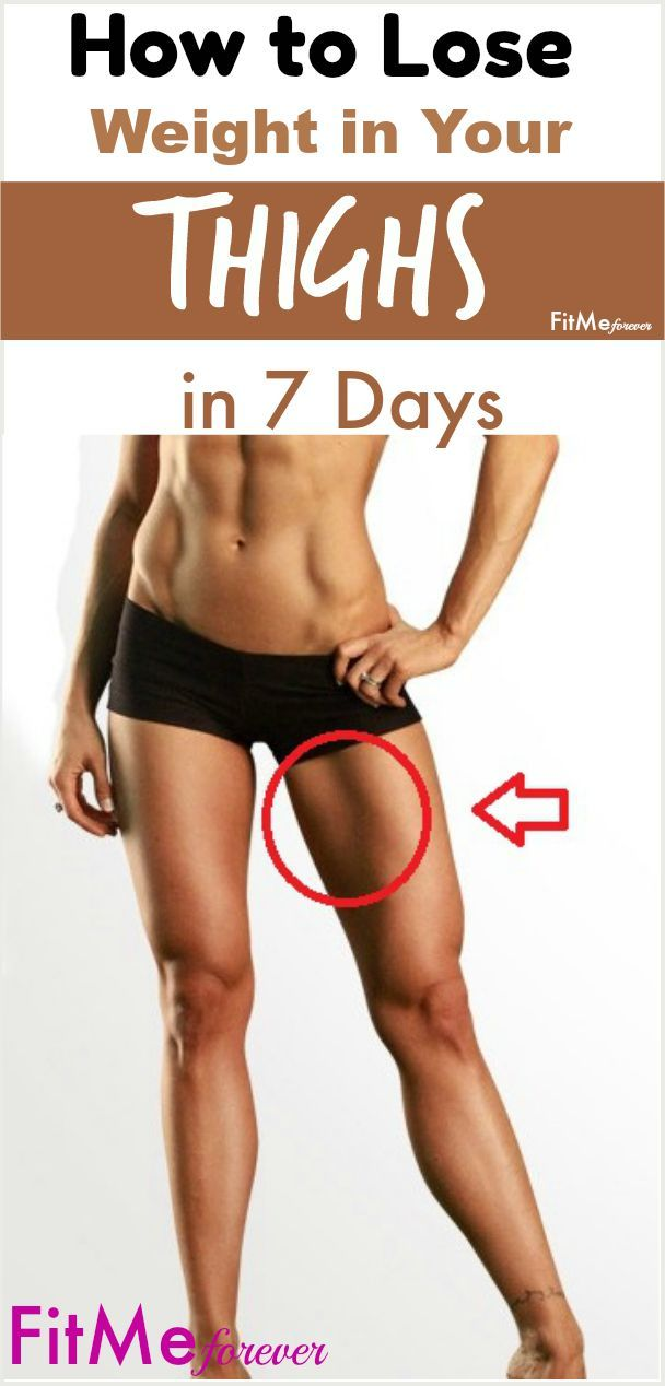 how to lose weight in your thighs at home