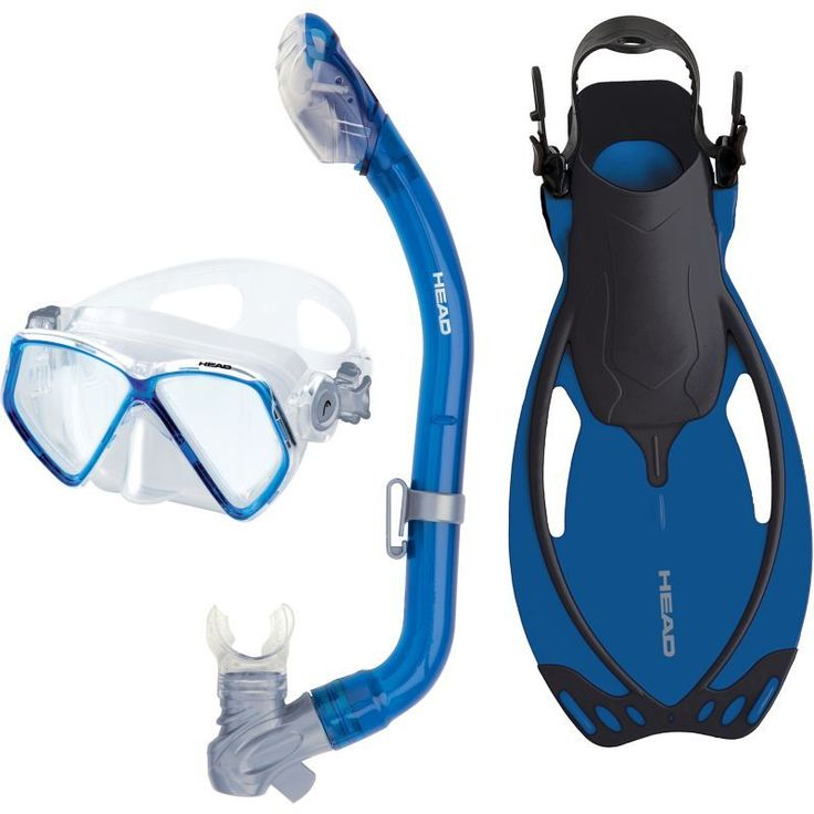 Head Youth/Teen Pirate Dry Snorkeling Set, Blue