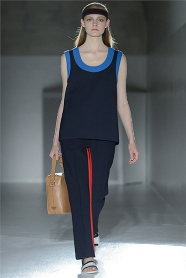Athletic Take on Prada Resort 2013