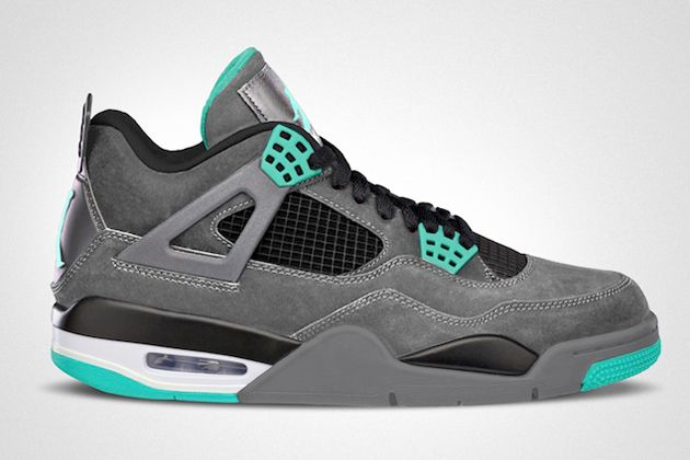 "My jaw is on the floor....  Air Jordan IV Retro ""Green Glow""  #jordan #basketball #glowinthedark #green #retro #nike #air #nsw #kobe #swag #style"