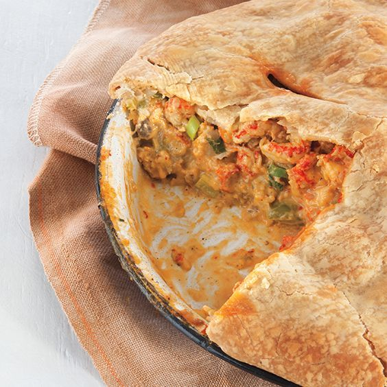 A traditional Crawfish Pie recipe that originated in the town of Napoleonville.