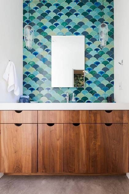 The Bathroom Trends You Need to Know About in 2017 - simple cabinets for one