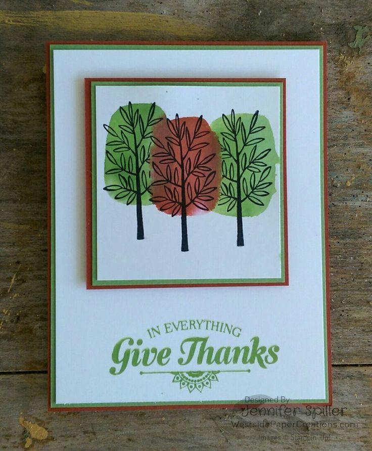 Totally Trees, Suite Seasons | Westside Paper Creations | Jennifer Spiller, Independent Stampin' Up! Demonstrator