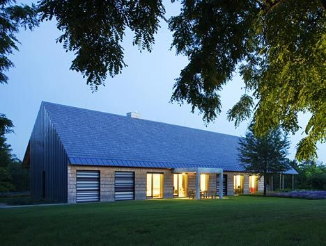 This Gabled Farmhouse By Architects Budapesti Muhely Is A Contemporary Interpretation Of Traditional Hungarian Peasant