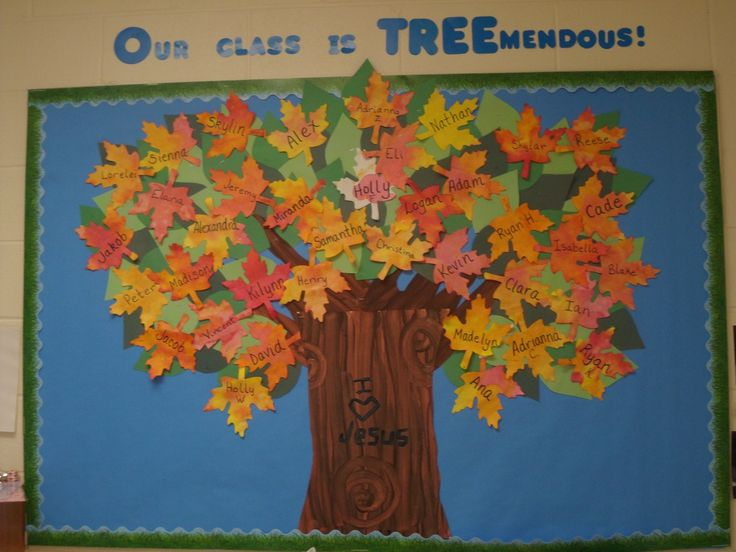 fall bulletin board ideas for preschool   Bunches of Bulletin Boards   Preschool PlayTime