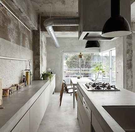 Designing An Industrial Kitchen Without An Industrial Space